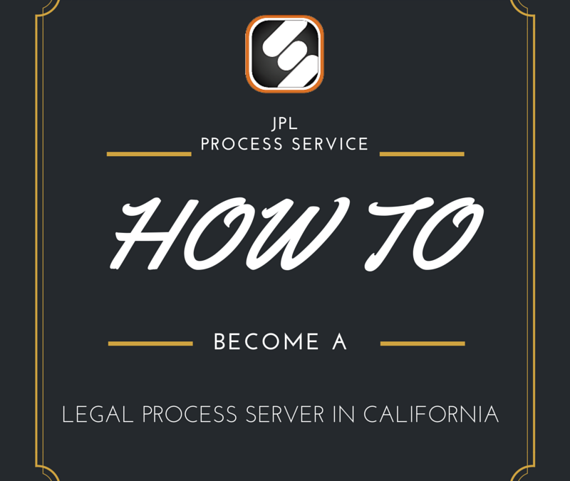 How To Become A Legal Process Server In Los Angeles County
