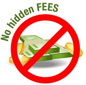 process service hidden fees - jpl process service