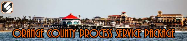 orange county process service package header