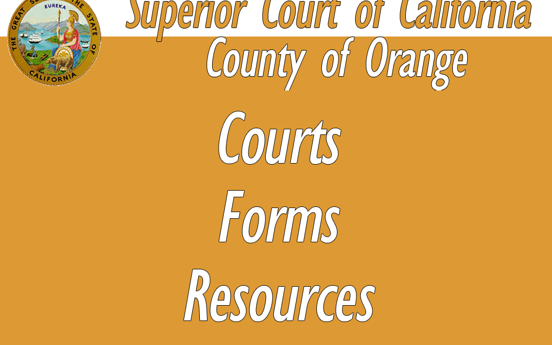 Orange County Courts & Forms