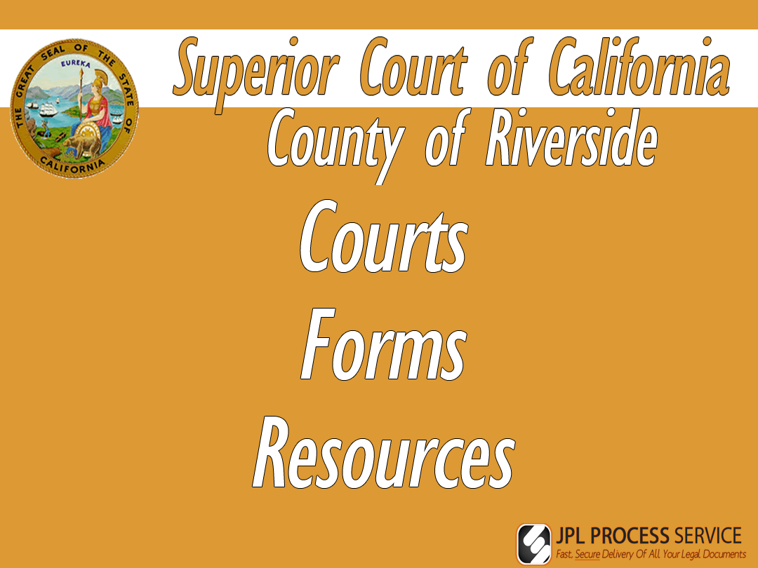 Riverside County Courts & Forms