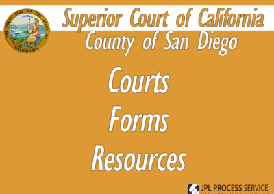 San Diego County Courts & Forms