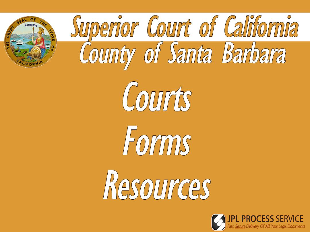 Santa Barbara County Courts & Forms