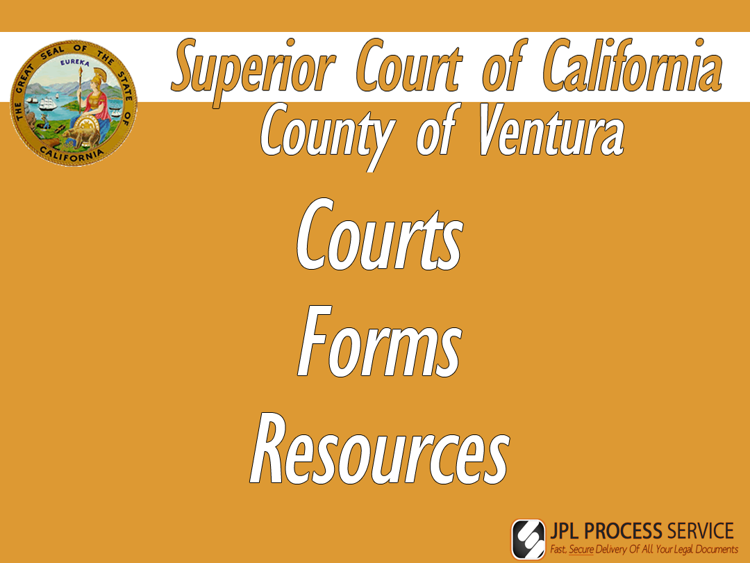 Ventura County Courts & Forms