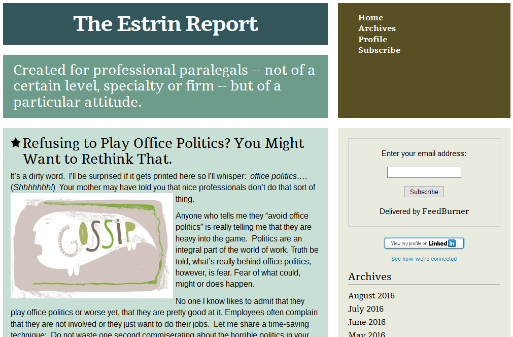 the-estrin-report