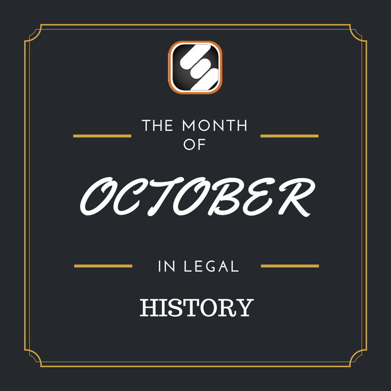 this month is us legal history october